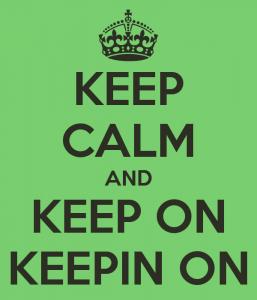 lesson 3 - keep calm